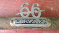 1929-1930 CHRYSLER MODEL 66 HEADLIGHT BAR.