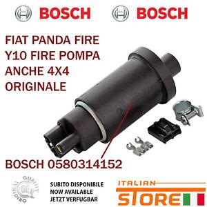 Fiat Panda 1.0 - 1.1 Und Y10 Fire Kraftstoffpumpe Neu Original Bosch 0580314152