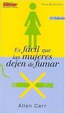 Es Facil Que Las Mujeres Dejen de Fumar (Spanish Edition)-ExLibrary