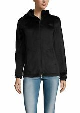 NWT THE NORTH FACE Osito Fleece Parka Jacket Coat, with Hoodie,Black, XS $149