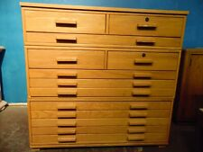 New listing Oak Stackable Map Filing Cabinet Local Pick Up Only