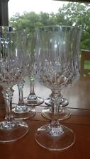 Longchamp Crystal Wine Glass by Cristal D'Arques France 6 5 3/4oz 24% full lead