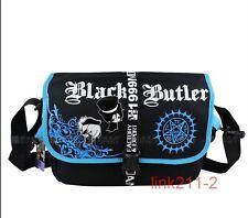 New Black ButlerⅡ Kuroshitsuji anime bag cosplay messenger shoulder school bag