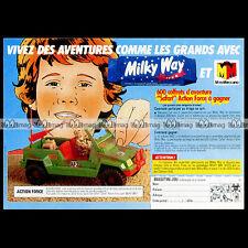 ACTION MAN ACTION FORCE 'AF3 Jeep Patrol Vehicle' 1983 Pub / Publicité / Ad #B42