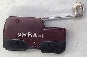 Unimax 2HBA-1  Roller Lever Action Switch , Normally Open or Closed Connections