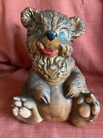 California Originals Pottery Vintage Bear Cookie Jar 1950's