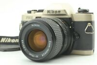 [Exc+5] Nikon FE10 Film Camera + Ai-s Nikkor 35-70mm f/3.5-4.8 From JAPAN #142