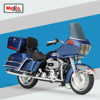 New Maisto 1:18 Harley-Davids 1980 FLT Tour Glide Motorcycle Diecast Model Toys