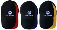 Volkswagen 5H6084300 Casquette de baseball R Noir Taille unique