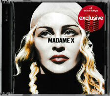 New: MADONNA - Madame X - Target Exclusive Deluxe Edition + 2 Bonus Tracks CD