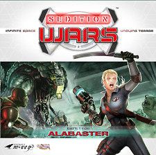 Cool Mini or Not Board Game Sedition Wars: Battle for Alabaster (NEW)