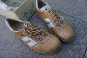 FINN COMFORT Vigo Damen Schuhe Schnürschuhe Gr.4,5 / 37,5 Leder mit Einlagen NEU