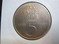 DDR 5 Mark 1969 - XX Jahre DDR - ( 351)