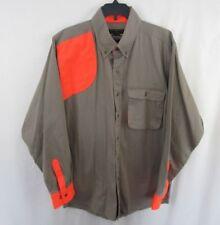 Master Sportsman Outdoor Long Sleeve Shirt Button Down Hunting Size Medium