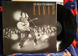 """Elvis - """"The Great Performances"""" - German vinyl pressing"""