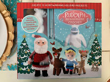 Rudolph the Red Nosed Reindeer Crochet Set Instruction Book Create 12 Christmas