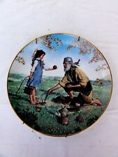 "Bradex American Folk Heroes "" Johnny Appleseed "" Collector Plate Numbered"
