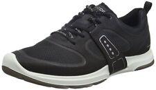 ECCO Women's Biom Amrap Tie Fashion Sneaker 40 EU/9-9.5 M US Black / White