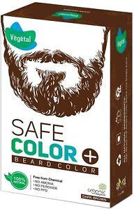 Vegetal Safe Color (50g, Dark Brown) free from chemical