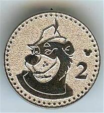 Little John Robin Hood Silver Coin 2 Cast Lanyard Hidden Mickey 2009 Disney Pin
