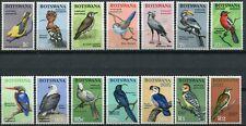(52) 14 VERY GOOD 1967 BOTSWANA SG220 - 233 BIRDS 1c to R2 UNMOUNTED MINT