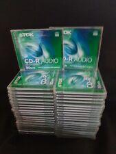 TDK CD-R Audio 80 Min CD Rohlinge - 40 Stück ? OVP