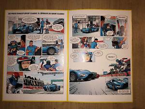 Michel Vaillant Le Mans Classic 2018 Dunlop Sport Classic Fascicule