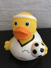 1 x WORLD CUP SOCCER EDITION Lufthansa First Class Lounge Rubber Duck / Ente (A)