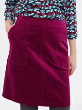 New White Stuff Rosy Plum Clocktower Cord Corduroy Skirt UK 12