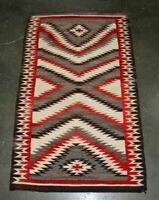 """Antique Navajo Indian Rug, Ganado Trading Post  c. 1920    66.5"""" x 39.5"""""""