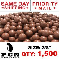 "1500 QTY - Biodegradable Slingshot Ammo 3/8"" Inch Precision Hard Clay Balls"
