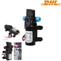 12V 116PSI Druckwasserpumpe Hochdruck Membranpumpe Wasserpumpe Selbstansaugende