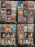 Boston Red Sox Sports Roger Clemens Mo Vaughn Wade Boggs 88 Cards