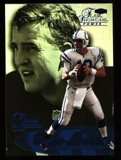 1999 FLAIR SHOWCASE LEGACY PEYTON MANNING PARALLEL CARD COLTS NM-MT SN# 28/99