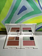 2x Clinique All About Shadow Duo:02 Black Honey/ 09 Smoke And Mirrors Bonus Bag