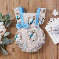 NEW Peter Rabbit Easter Bunny Rabbit Baby Girls Sleeveless Romper Jumpsuit