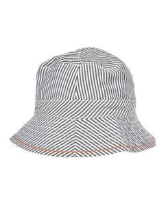 Hugo Boss Boys J91075 Hat Striped 77H Blue Size 40 CM