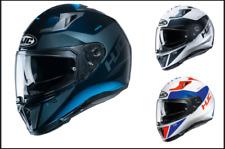 HJC i70 Tas Full Face Graphic Motorcycle Motorbike Road Crash Helmet
