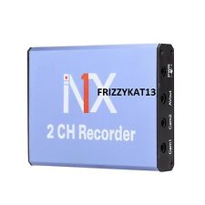 MINI DVR REGISTRATORE SD CARD 128gb 25fps 2ch in Tempo Reale DVR Rilevamento del movimento & fotocamera