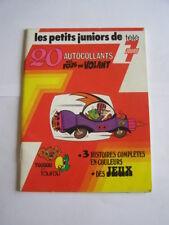 BD les petits juniors de tele 7 jours fous du volant , toudou et toufou de 1977