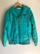 ROXY Women's size 12 puffer jacket with zip off sleeves