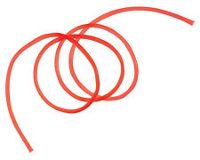 Gummischlauch Rot, Fluo-Rot, Japanrot, UV-Aktiv für Meeressysteme 5mm - 1 Meter