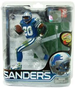 Barry Sanders Detroit Lions McFarlane Action Figure NIB NFL Series 28 Football