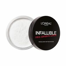 L'Oreal Infallible PRO SWEEP & LOCK Loose Setting Powder Translucent- 0.28oz