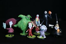 Disney The Nightmare Before Christmas LOT of PVC Figures (Great Cake Toppers)