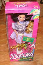 1352 - Animal Lovin' Barbie, Nikki (Mattel, 1988) Safari, Lion Cub