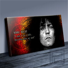 AMAZING MARC BOLAN T-REX ICONIC PEACE COLLECTION CANVAS POPART PRINT ArtWilliams