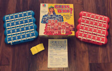 GUESS WHO - Rare Vintage Limited Edition MB Game Boxed Complete & Immaculate!