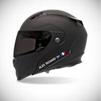 Autocollant pour casque de moto sticker Identité - couleur sticker personnalisé