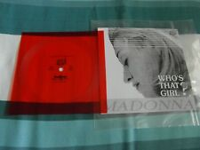 "VERY RARE MADONNA WHO'S THAT GIRL RUSSIAN PROMO RED 5"" FLEXI DISC-EX. CONDITION"